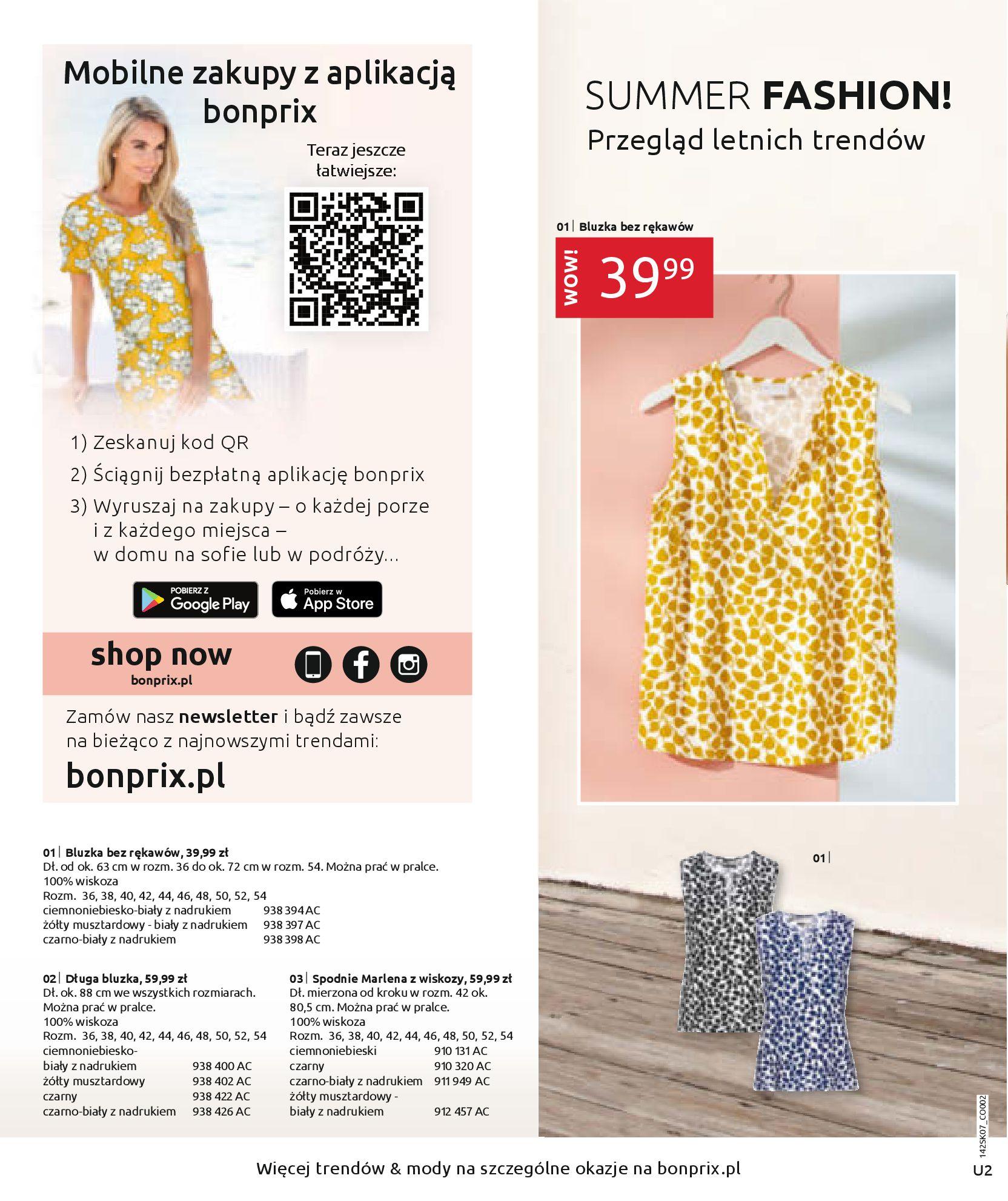 Gazetka Bonprix: SUMMER FASHION! 2020-08-26 page-2