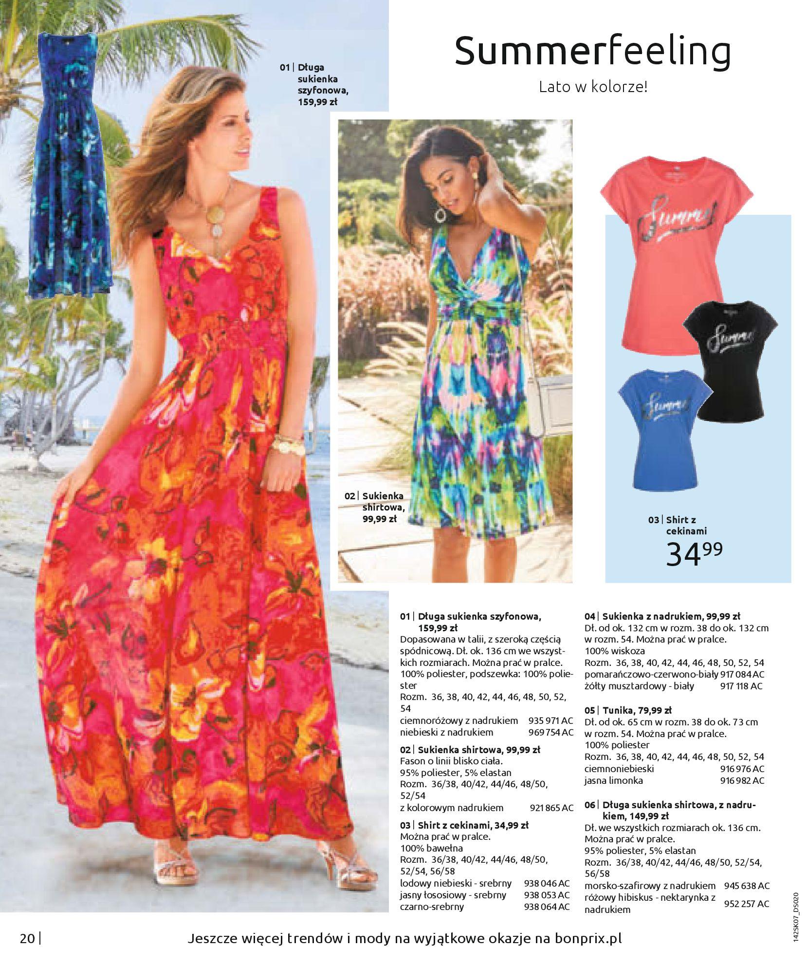 Gazetka Bonprix: SUMMER FASHION! 2020-08-26 page-22