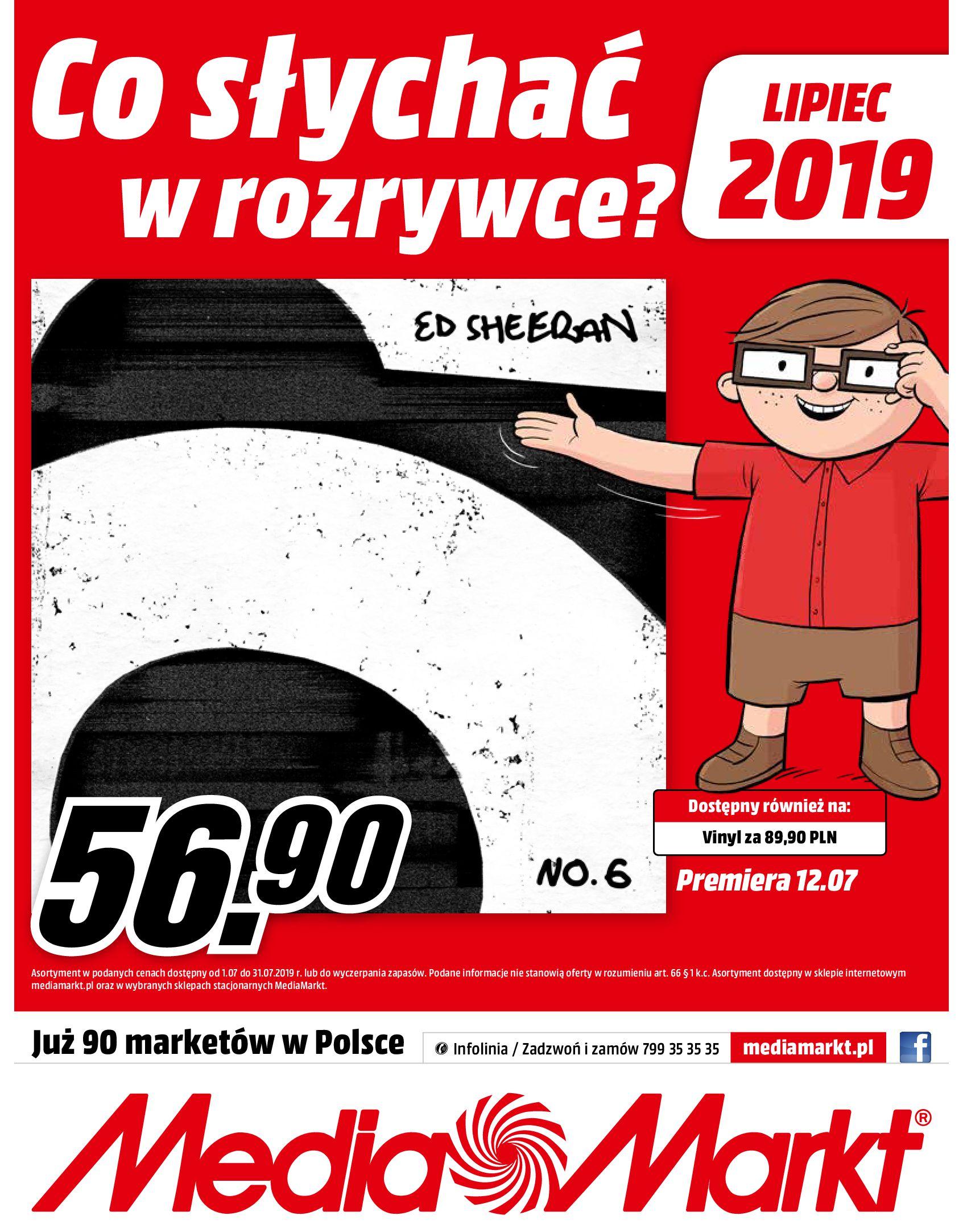 Gazetka Media Markt - Co słychać w rozrywce ?-30.06.2019-31.07.2019-page-