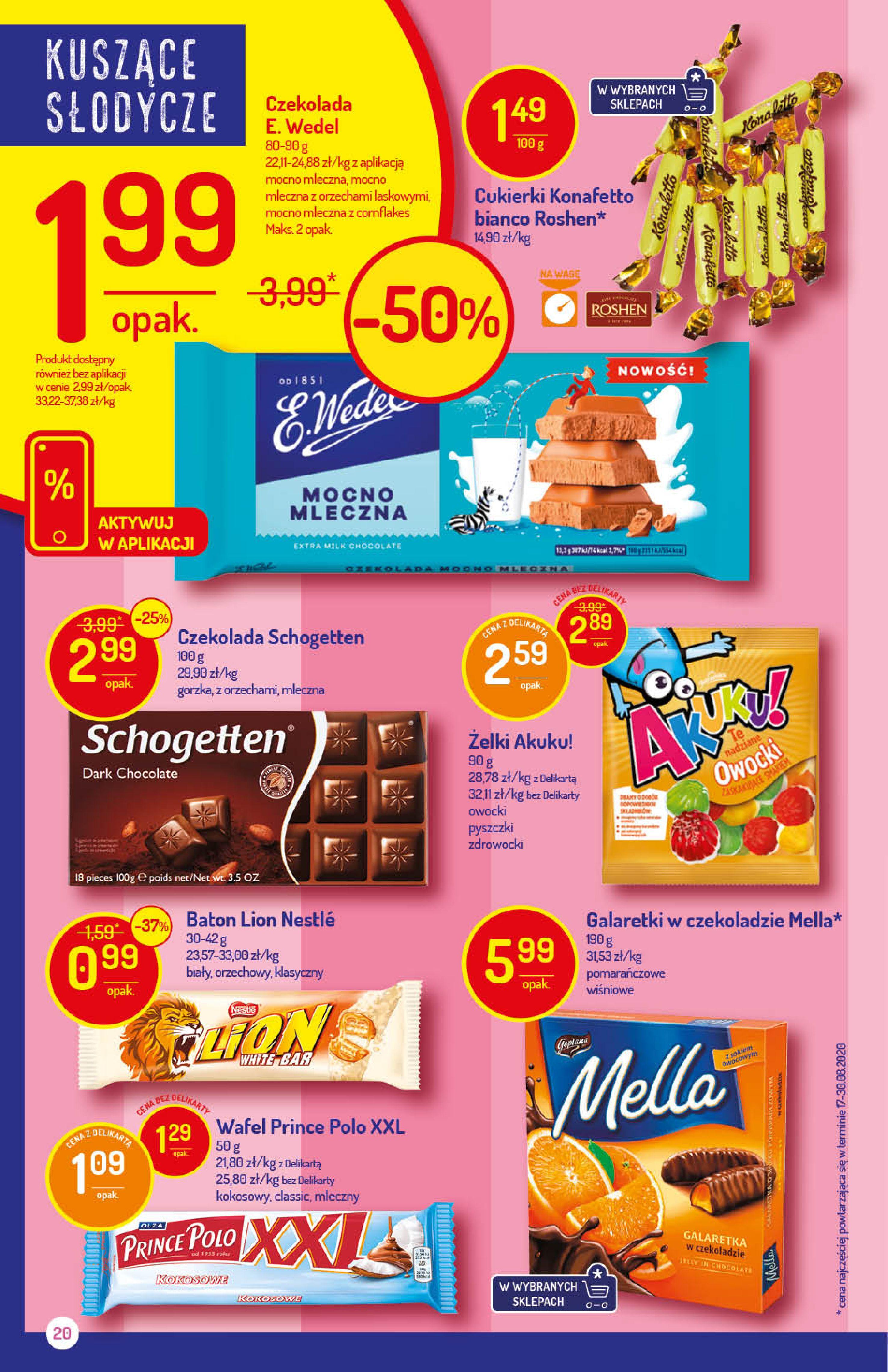 Gazetka Delikatesy Centrum - Oferta handlowa-14.10.2020-21.10.2020-page-20