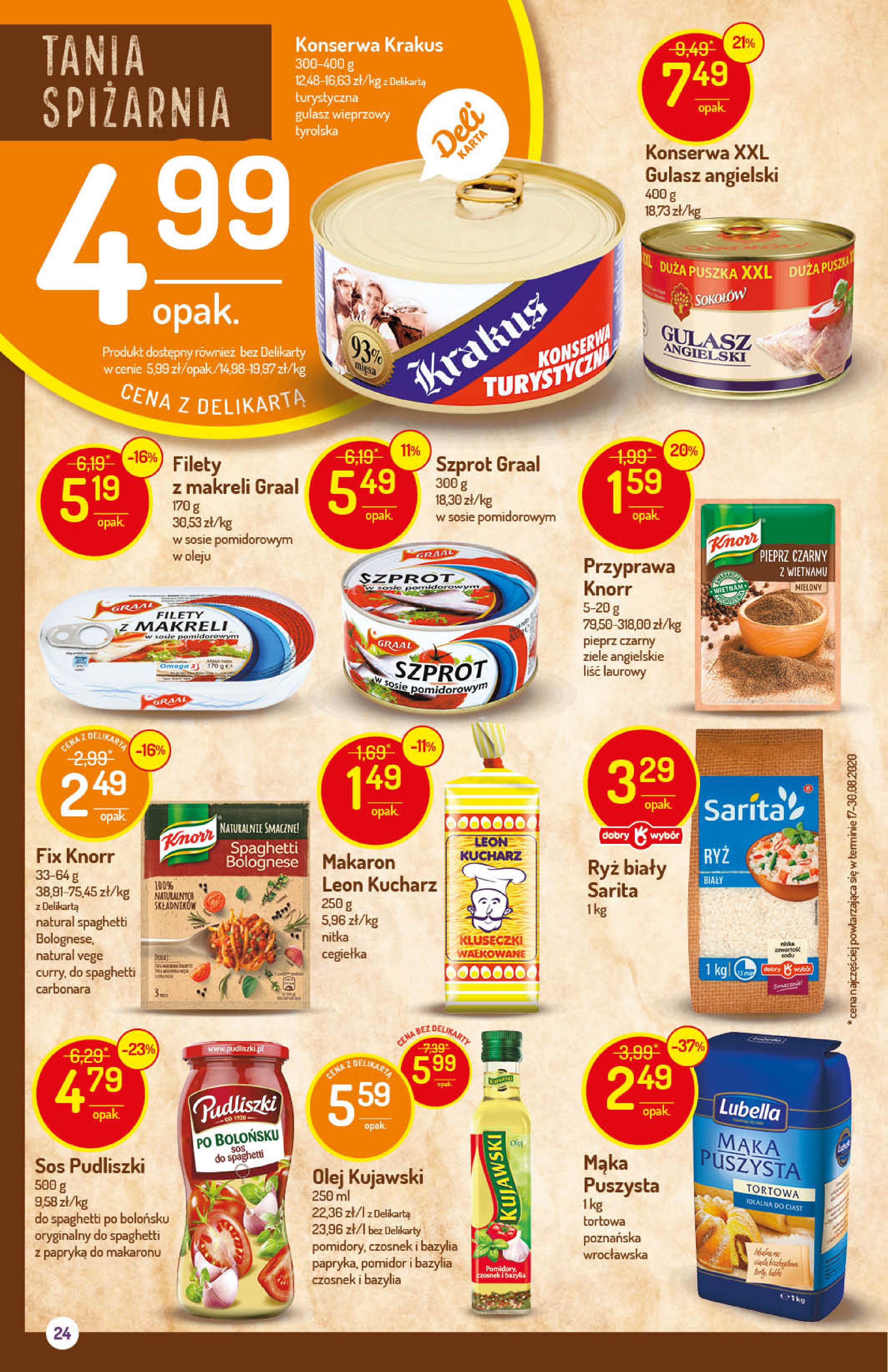 Gazetka Delikatesy Centrum - Oferta handlowa-14.10.2020-21.10.2020-page-24