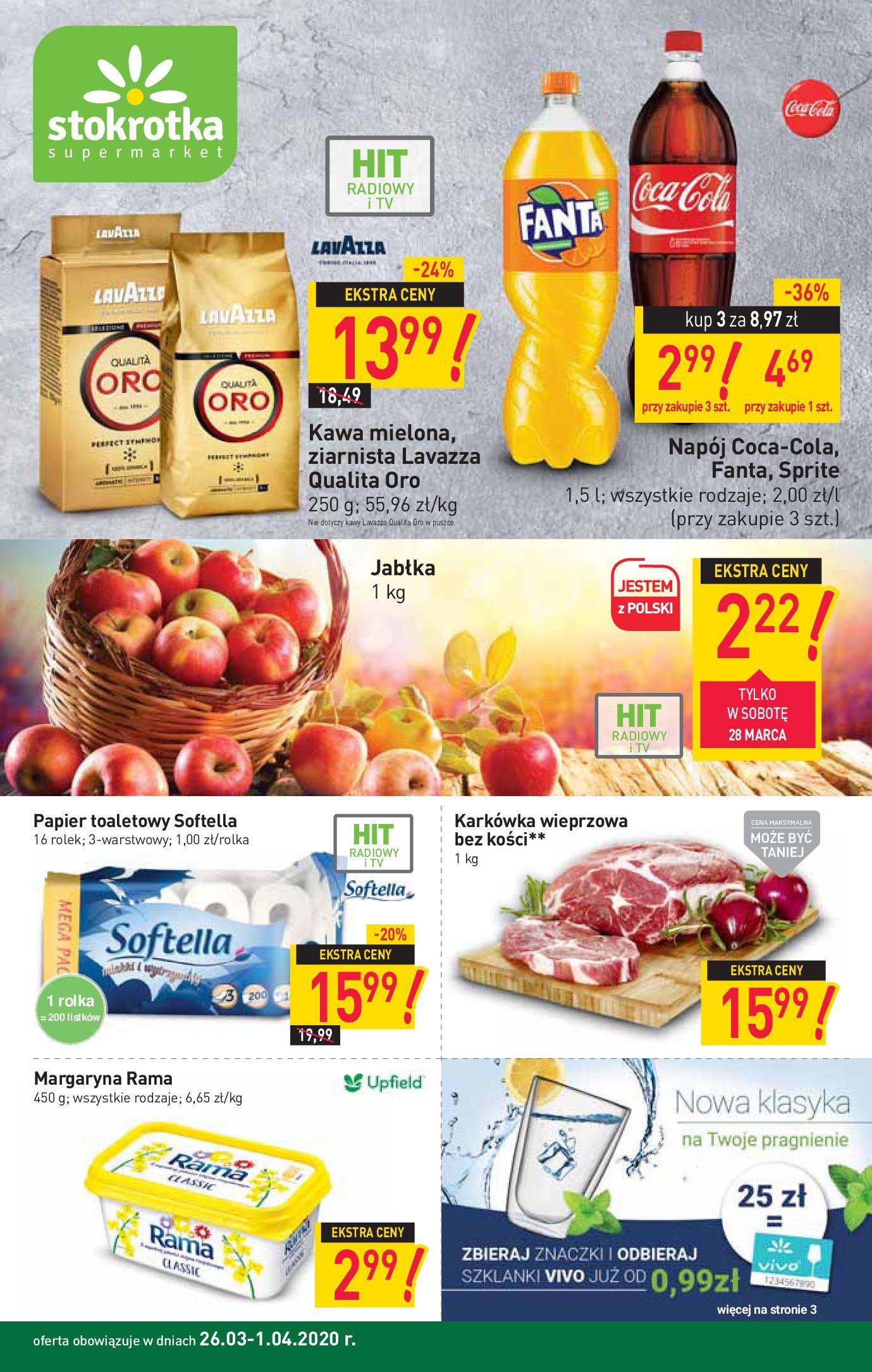 Gazetka Stokrotka Supermarket - Oferta handlowa-23.03.2020-02.04.2020-page-1