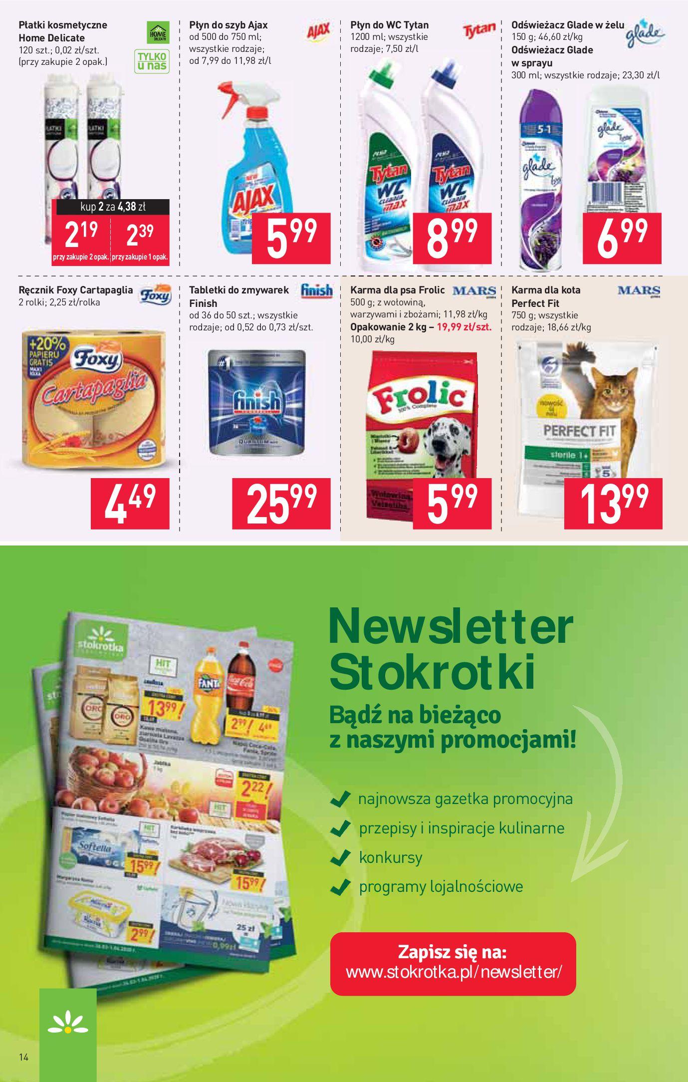 Gazetka Stokrotka Supermarket - Oferta handlowa-23.03.2020-02.04.2020-page-14