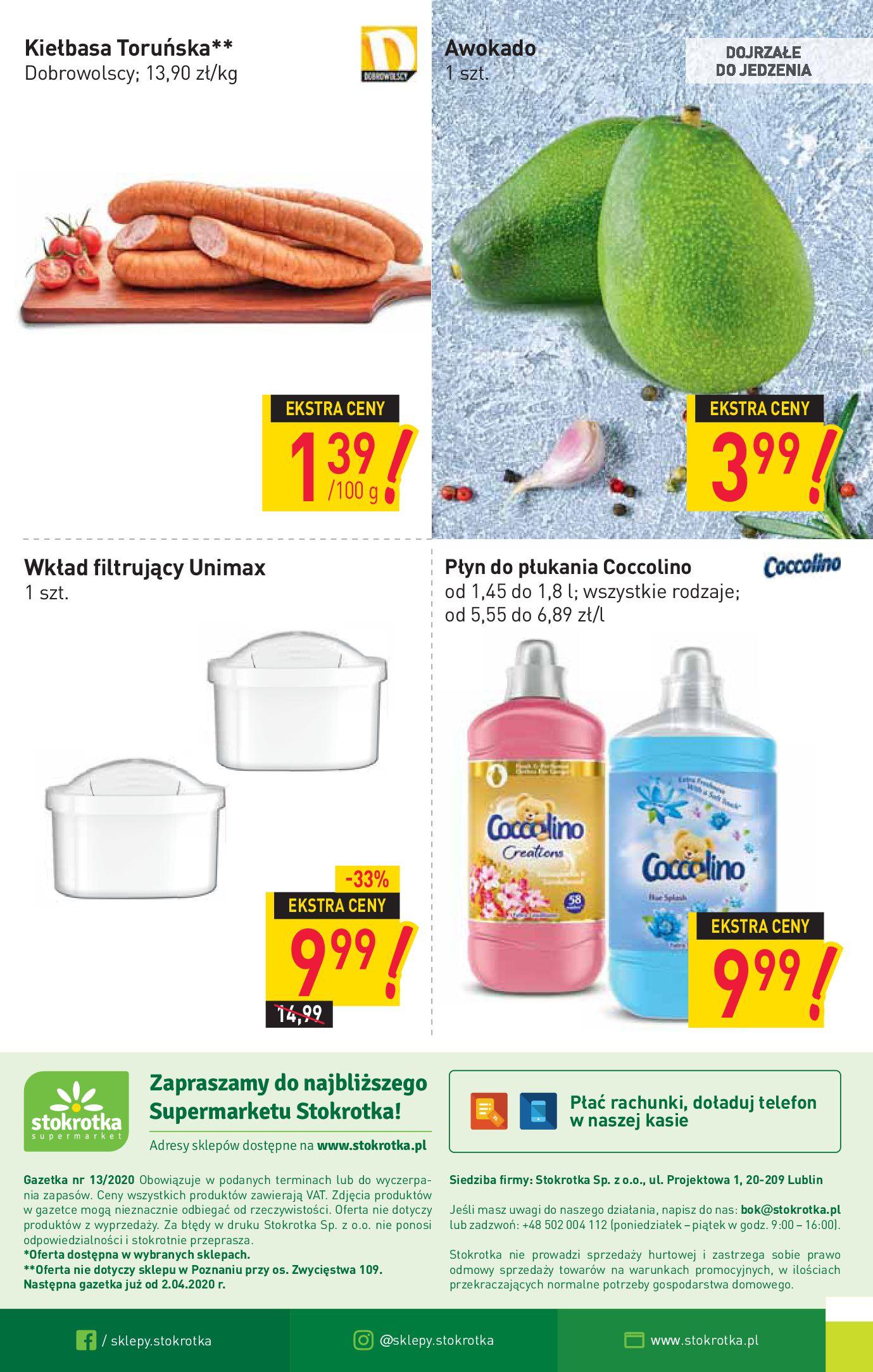Gazetka Stokrotka Supermarket - Oferta handlowa-23.03.2020-02.04.2020-page-16