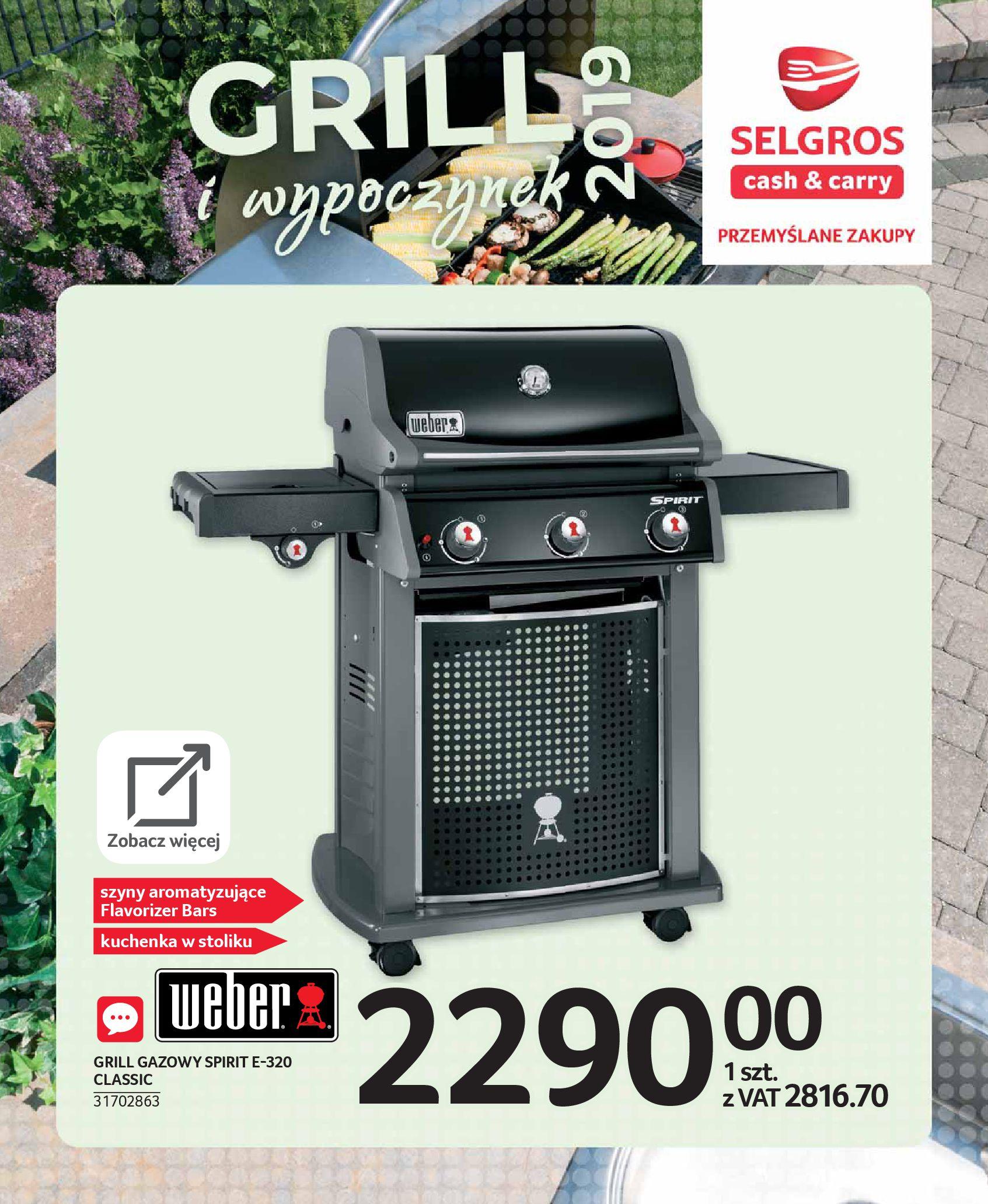 Gazetka Selgros - E - katalog grill wypoczynek-08.05.2019-22.05.2019-page-