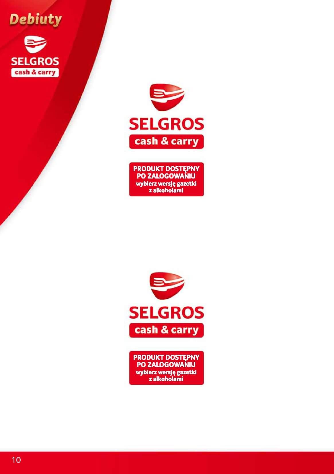 Gazetka Selgros - Oferta promocyjna na nowe produkty-2017-12-04-2017-12-18-page-10