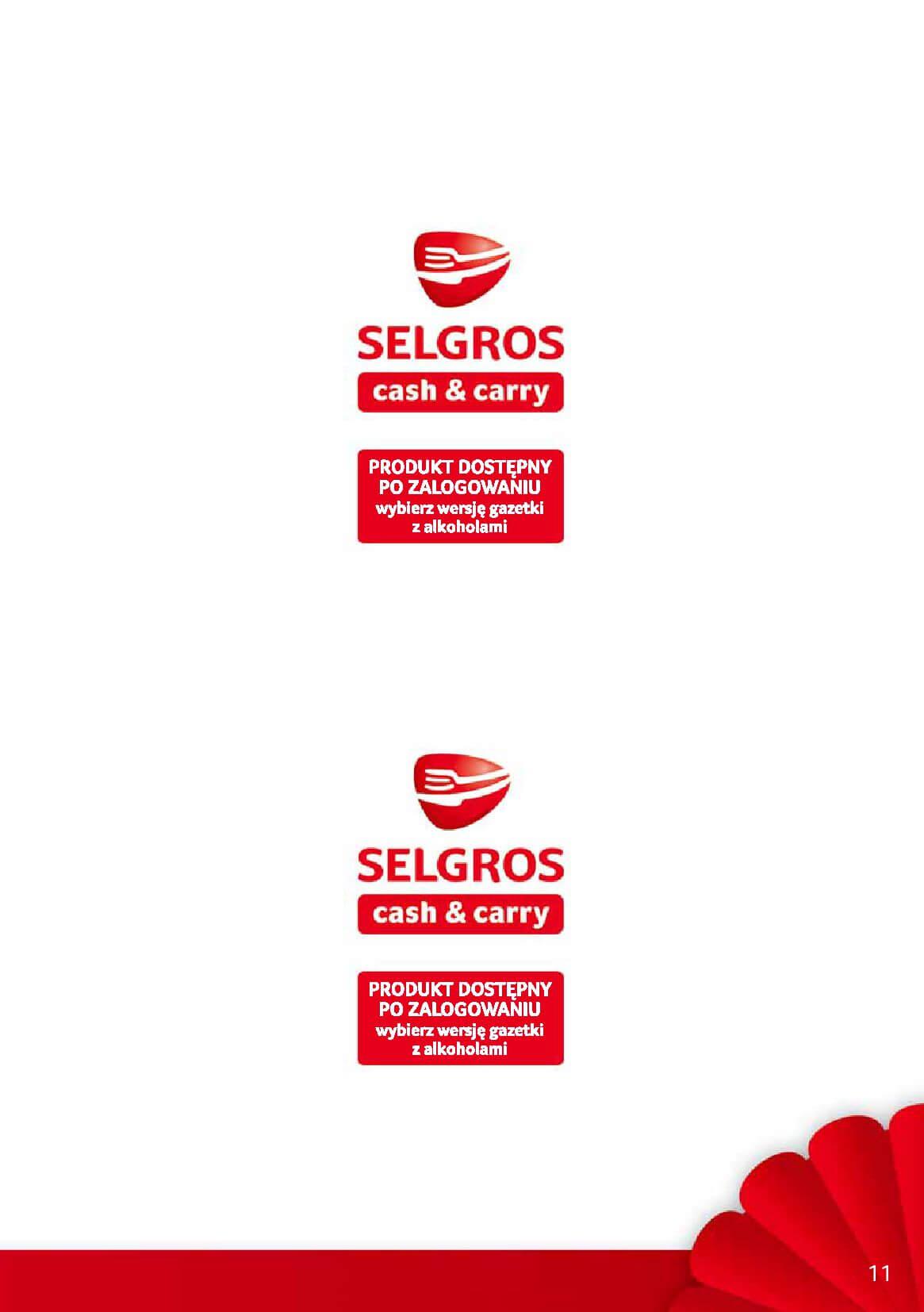 Gazetka Selgros - Oferta promocyjna na nowe produkty-2017-12-04-2017-12-18-page-11