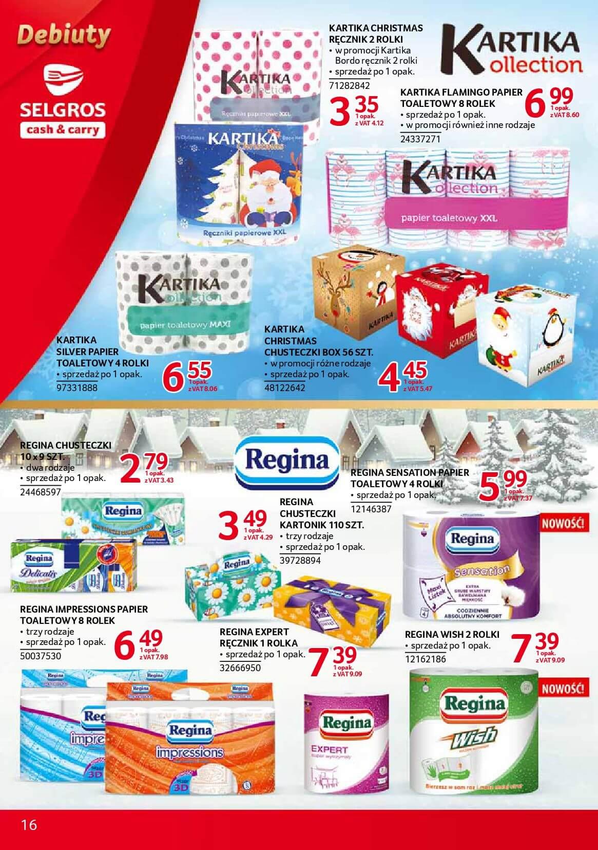 Gazetka Selgros - Oferta promocyjna na nowe produkty-2017-12-04-2017-12-18-page-16