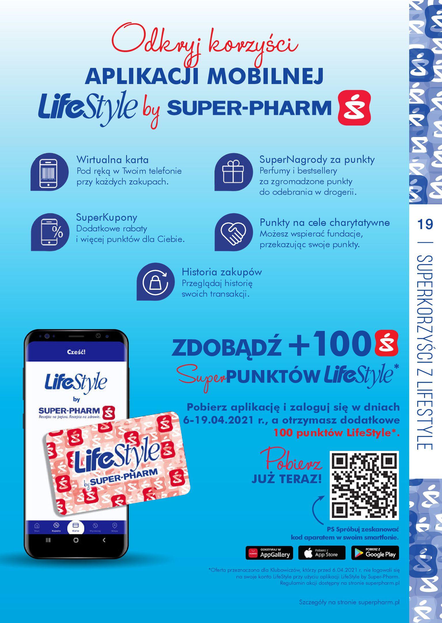 Gazetka Super-Pharm: Oferta handlowa 2021-04-06 page-19
