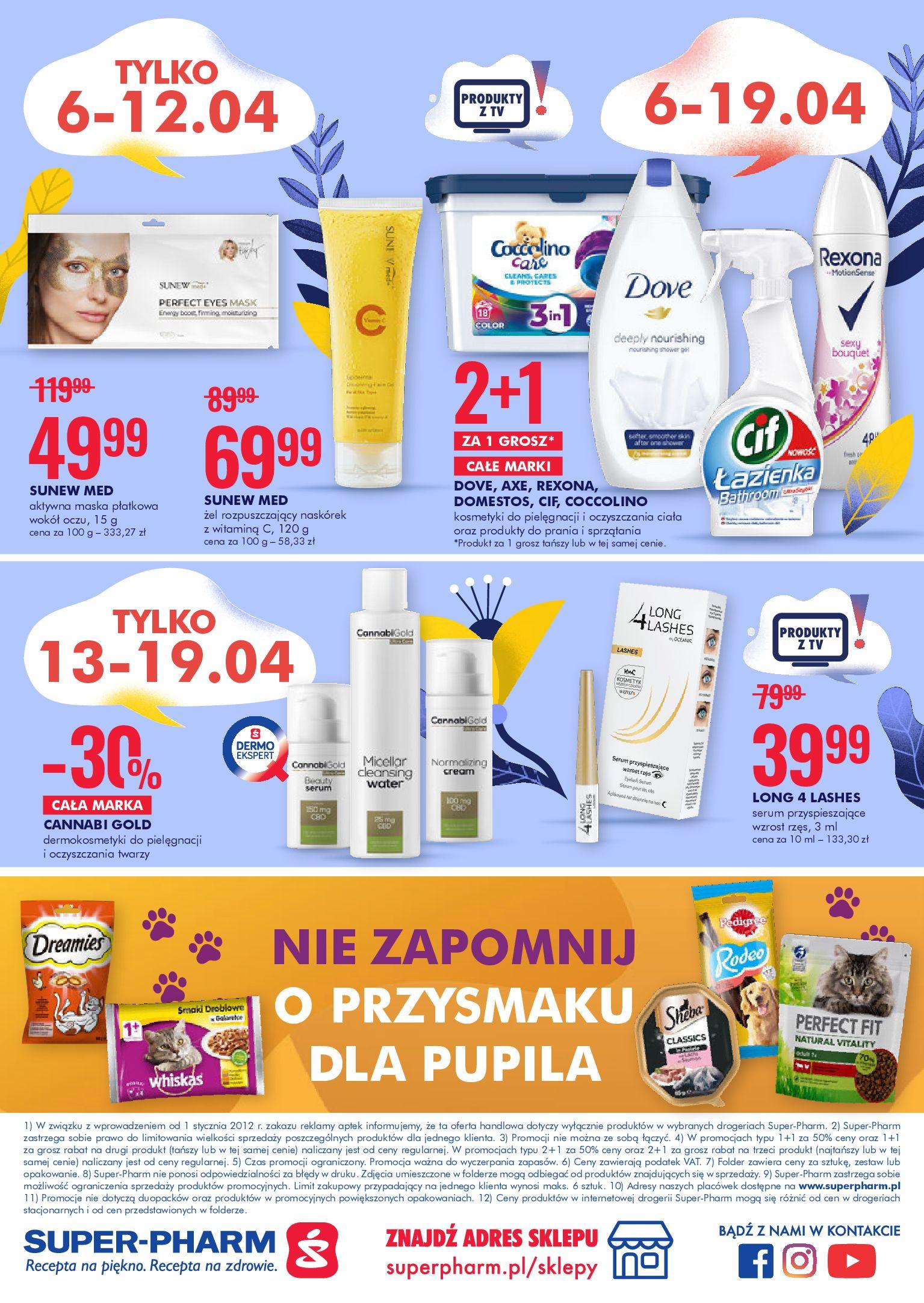 Gazetka Super-Pharm: Oferta handlowa 2021-04-06 page-20