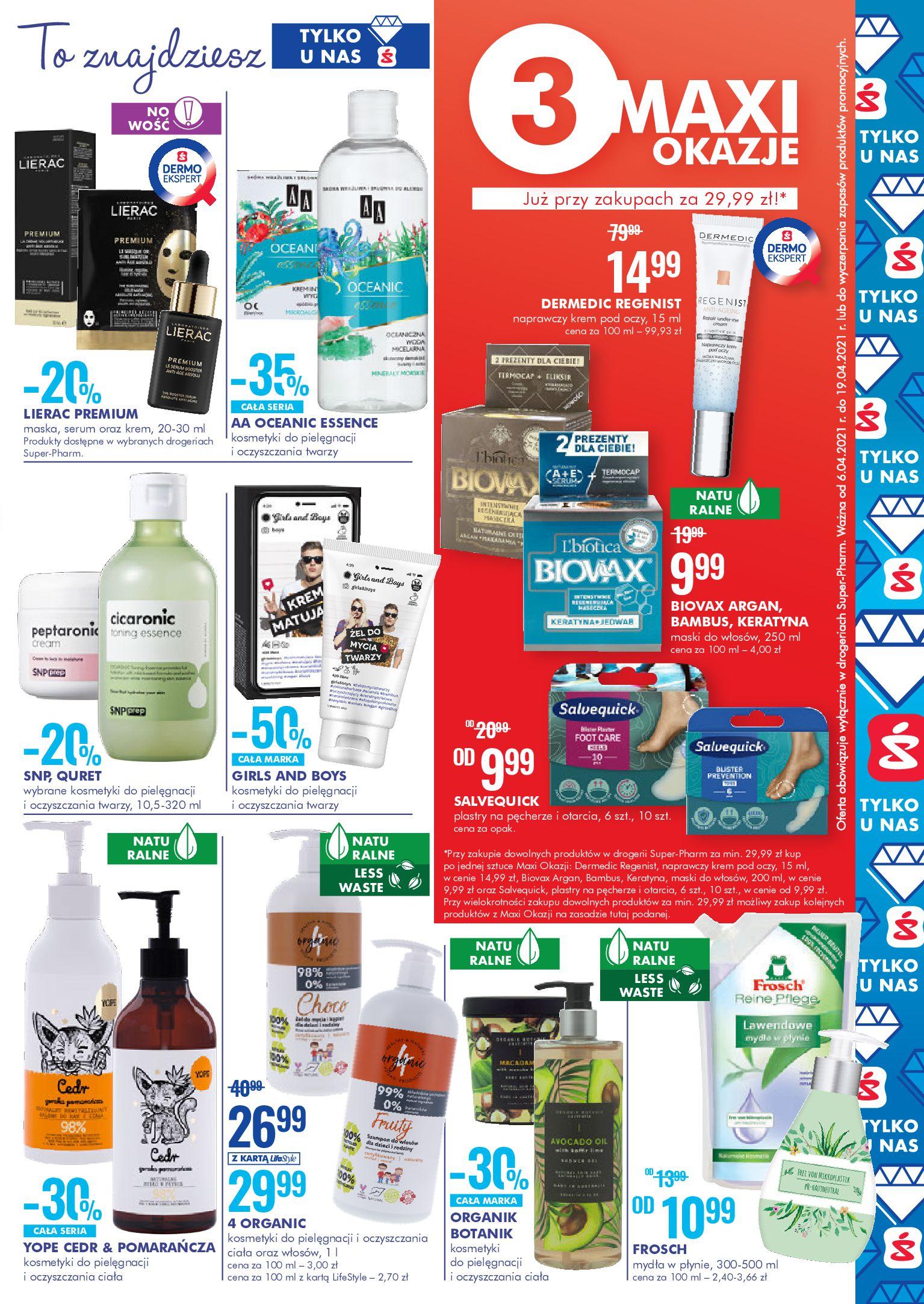 Gazetka Super-Pharm: Oferta handlowa 2021-04-06 page-3
