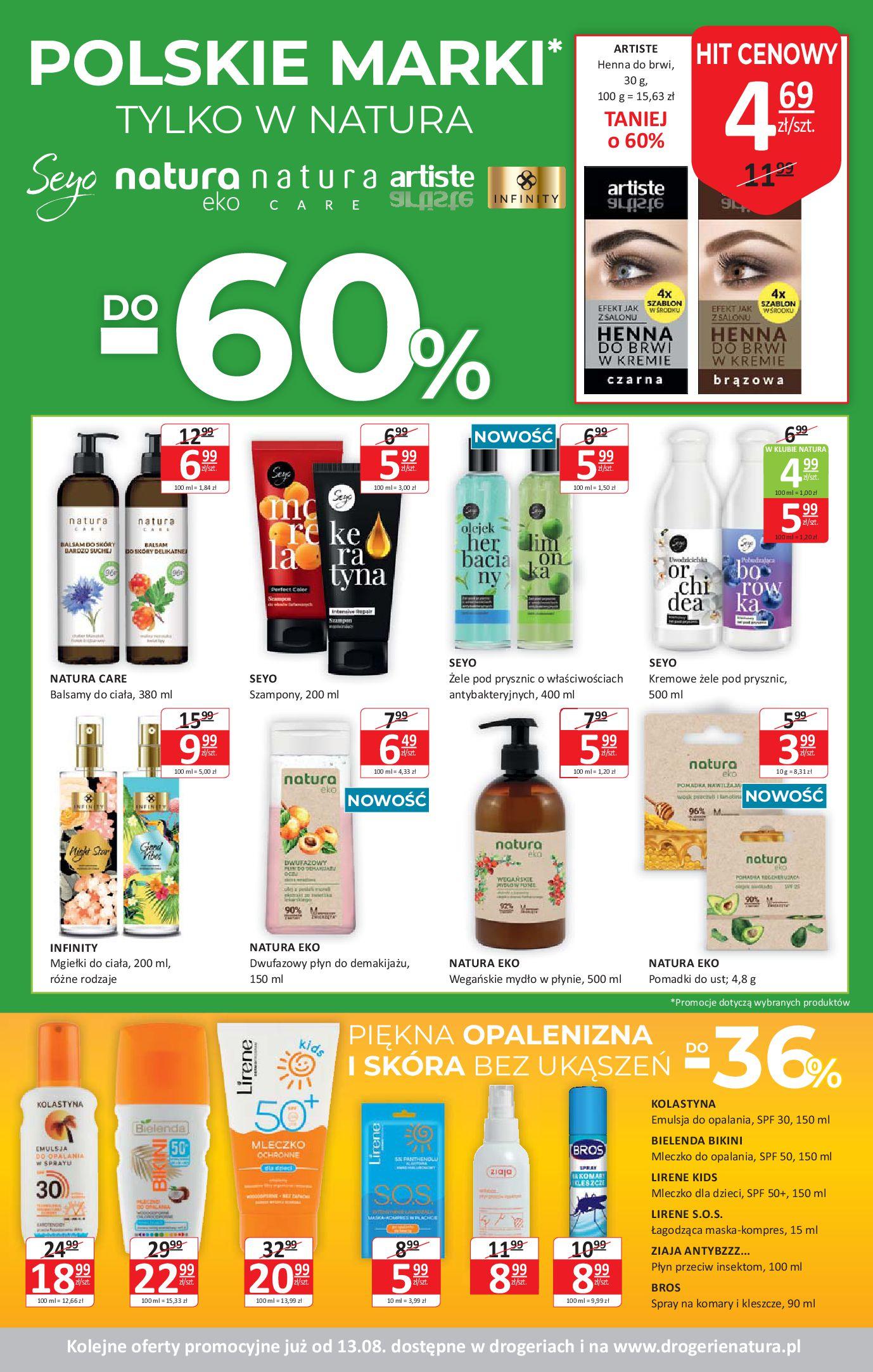 Gazetka Drogerie Natura - Oferta handlowa-29.07.2020-12.08.2020-page-3
