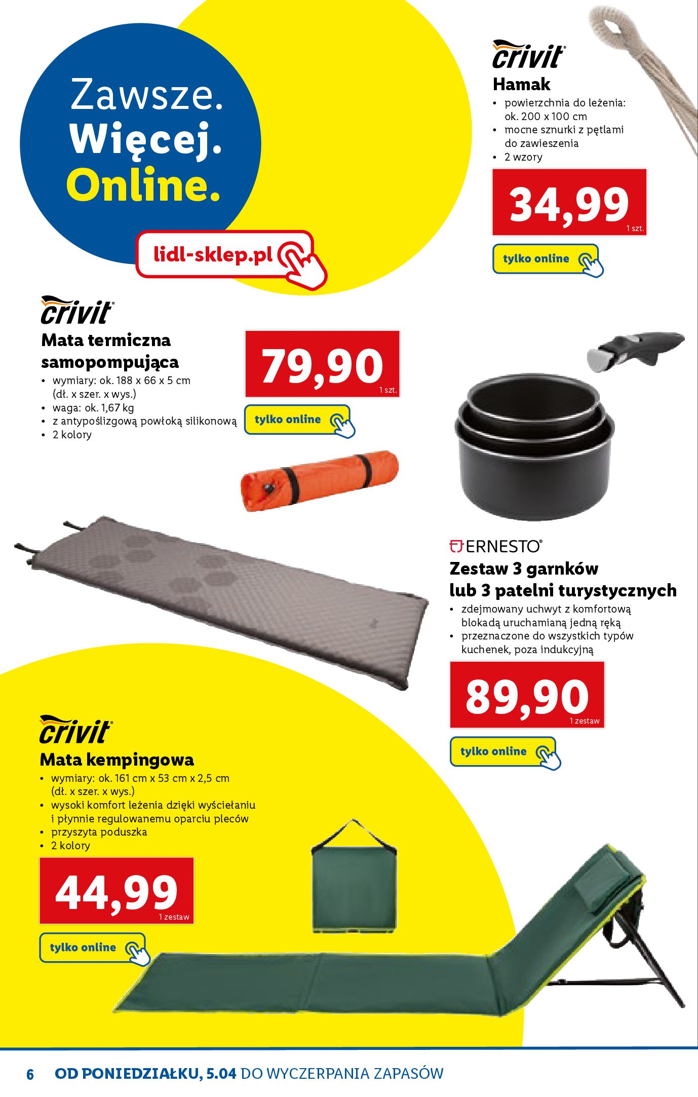 Gazetka Lidl: Katalog ONLINE - Rekreacja 2021-04-07 page-6