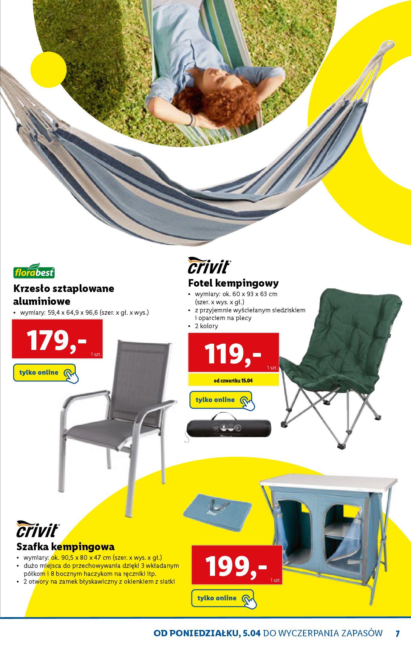Gazetka Lidl: Katalog ONLINE - Rekreacja 2021-04-07 page-7