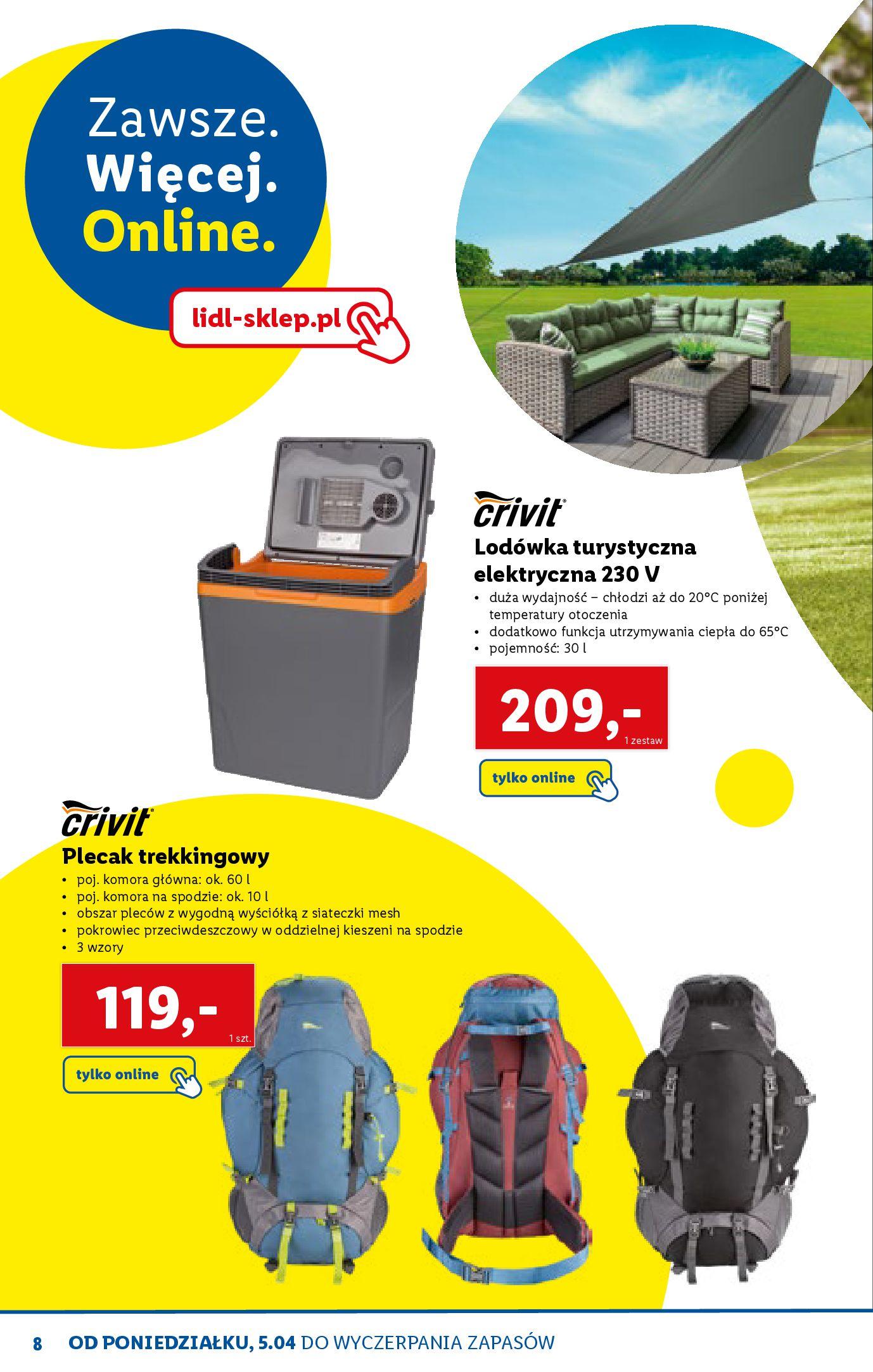 Gazetka Lidl: Katalog ONLINE - Rekreacja 2021-04-07 page-8