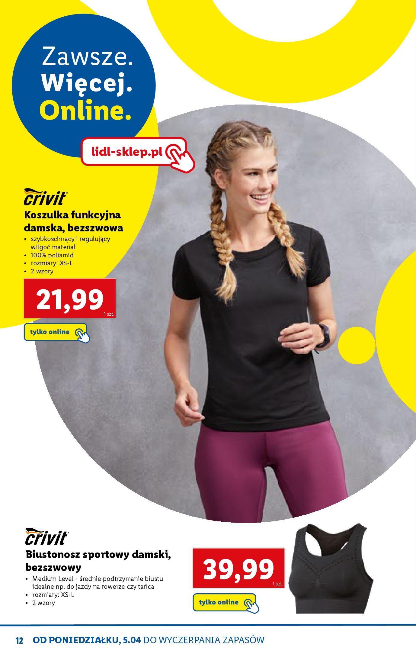 Gazetka Lidl: Katalog ONLINE - Rekreacja 2021-04-07 page-12