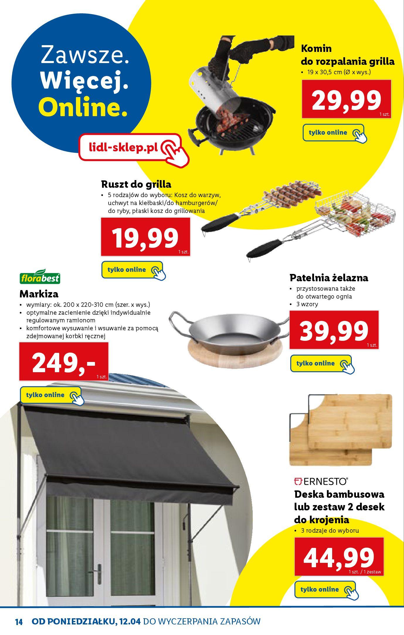Gazetka Lidl: Katalog ONLINE - Rekreacja 2021-04-07 page-14