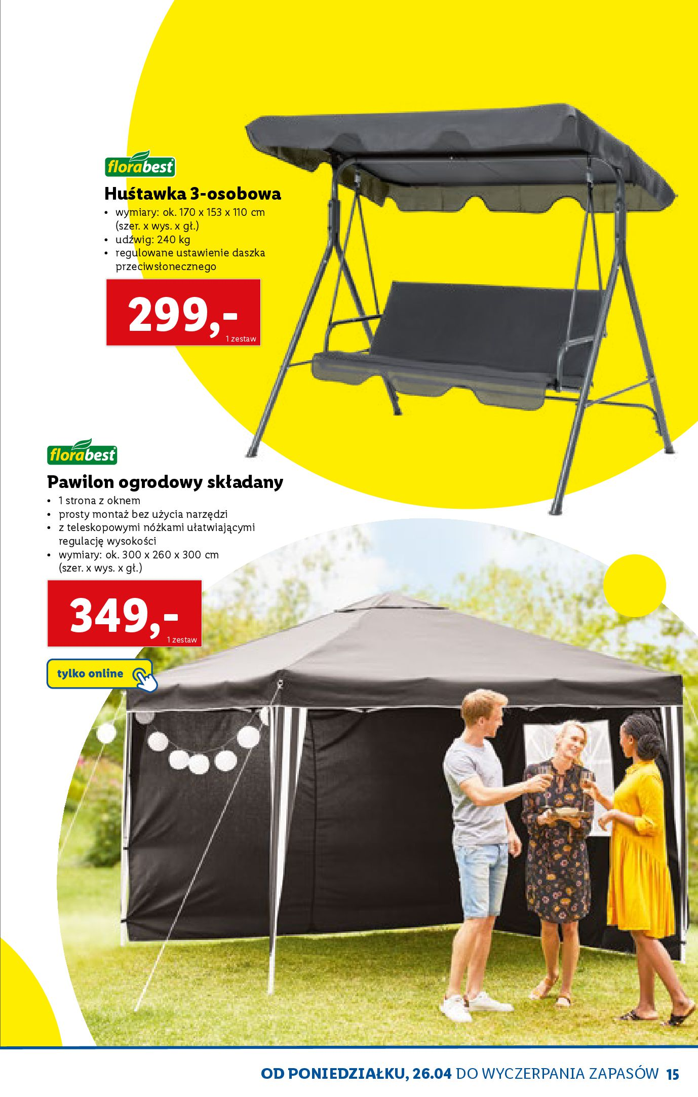 Gazetka Lidl: Katalog ONLINE - Rekreacja 2021-04-07 page-15