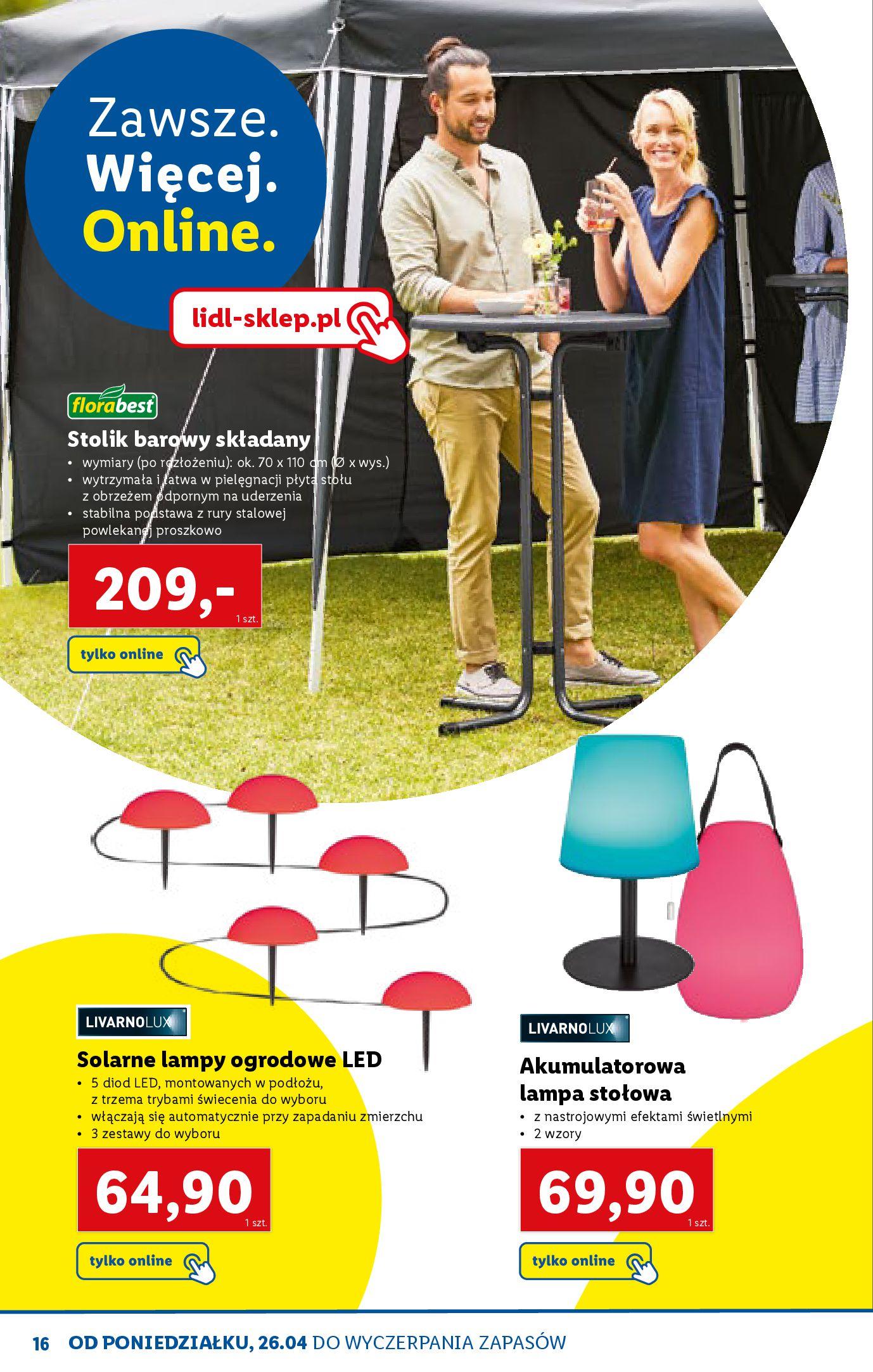 Gazetka Lidl: Katalog ONLINE - Rekreacja 2021-04-07 page-16