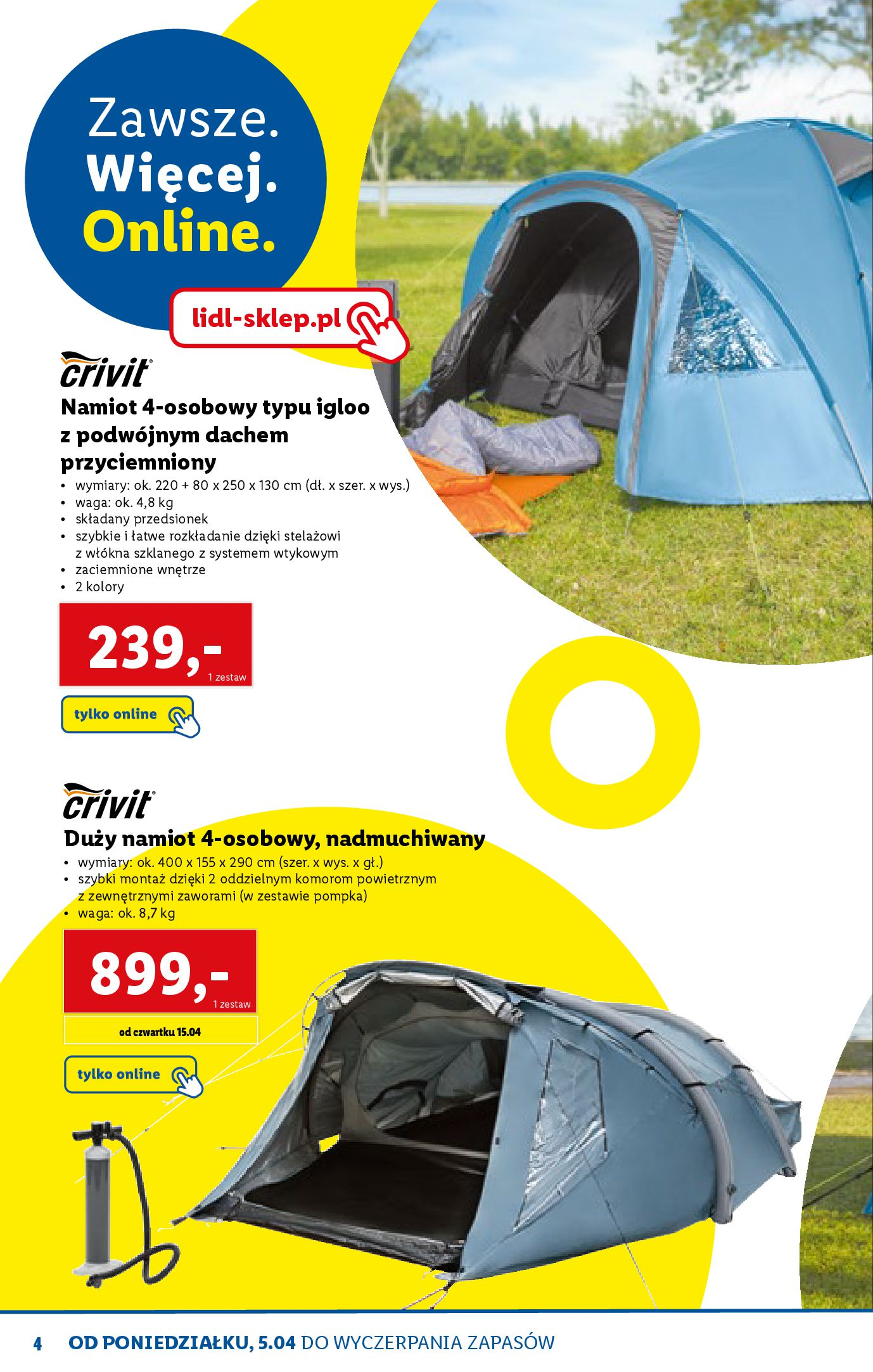 Gazetka Lidl: Katalog ONLINE - Rekreacja 2021-04-07 page-4