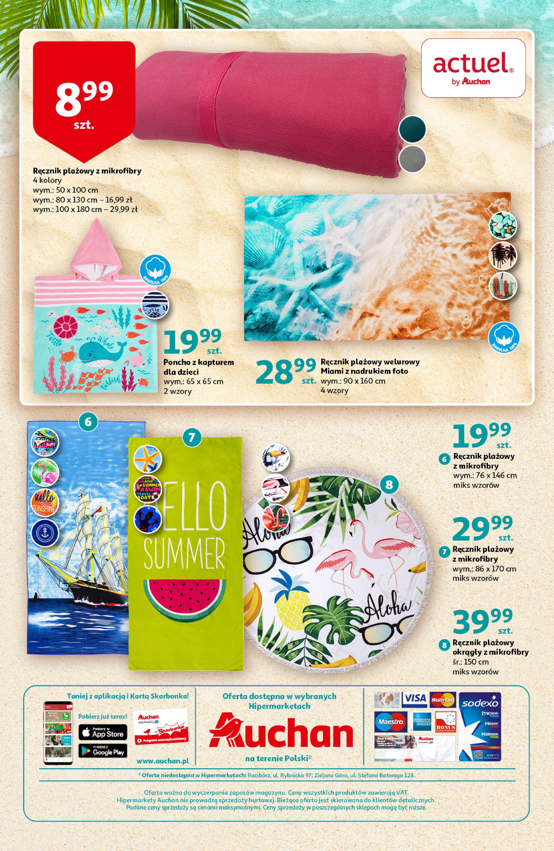 Gazetka Auchan: Gazetka Auchan - Ruszamy na plażę 2021-06-10 page-3