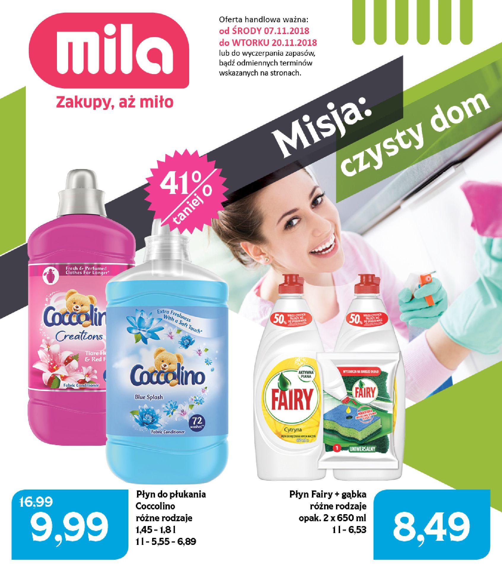 Gazetka Mila - Czysty dom-05.11.2018-20.11.2018-page-
