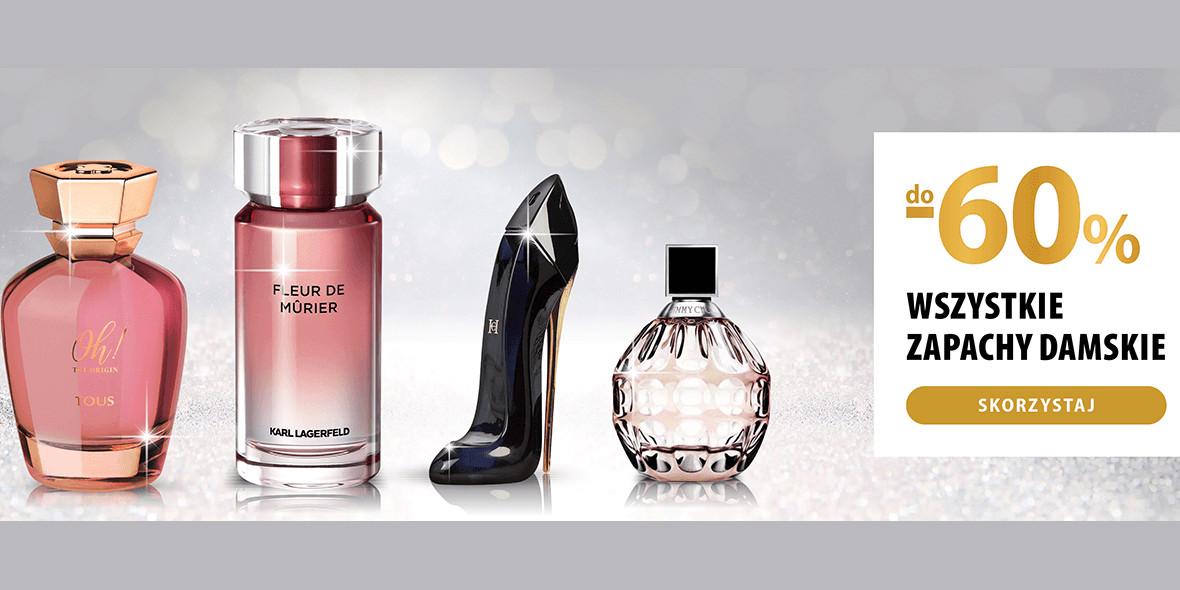 hebe: Do -60% wszystkie damskie zapachy 25.02.2021