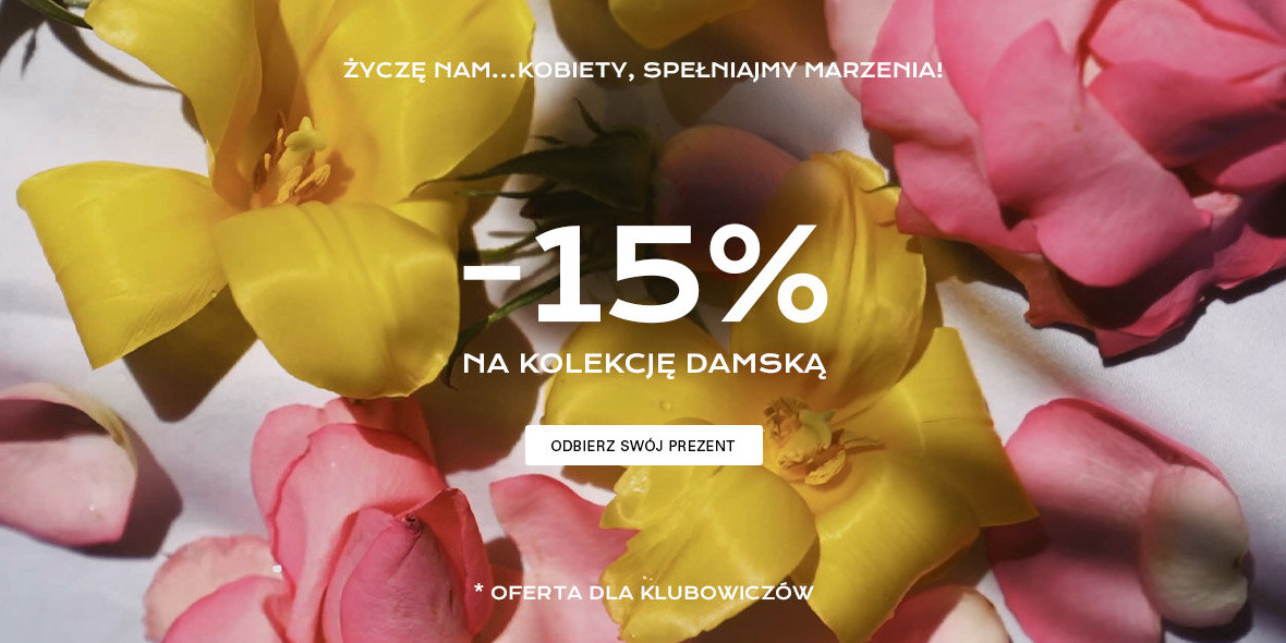 CCC:  -15% na kolekcję damską 04.03.2021