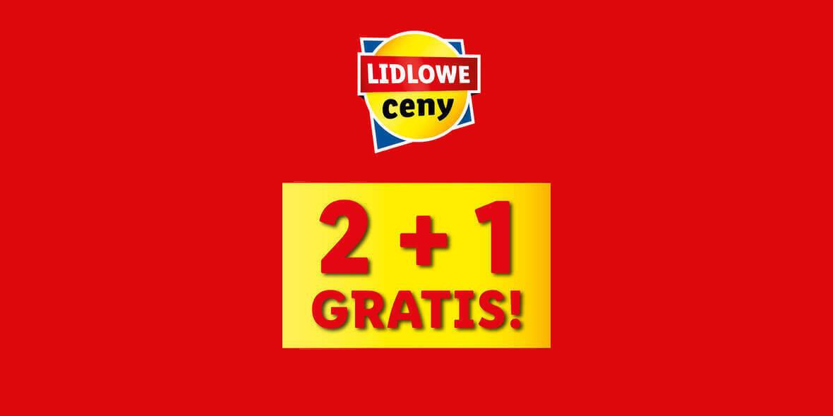 Lidl: 2 + 1 na wybrane produkty Pilos 02.08.2021
