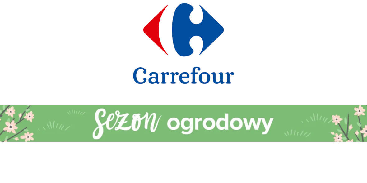 Carrefour: Super ceny na meble ogrodowe 01.04.2021