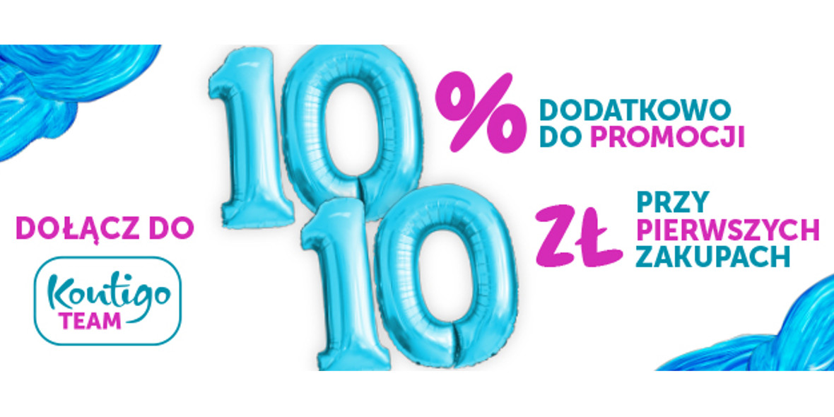 -10% + 10 zł