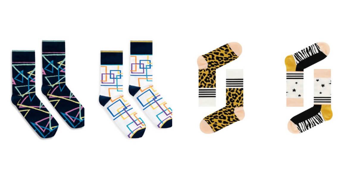 na kolorowe skarpetki Happy Socks
