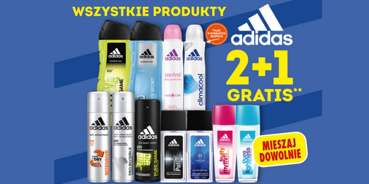 Biedronka:  2 + 1 na produkty adidas 12.10.2021