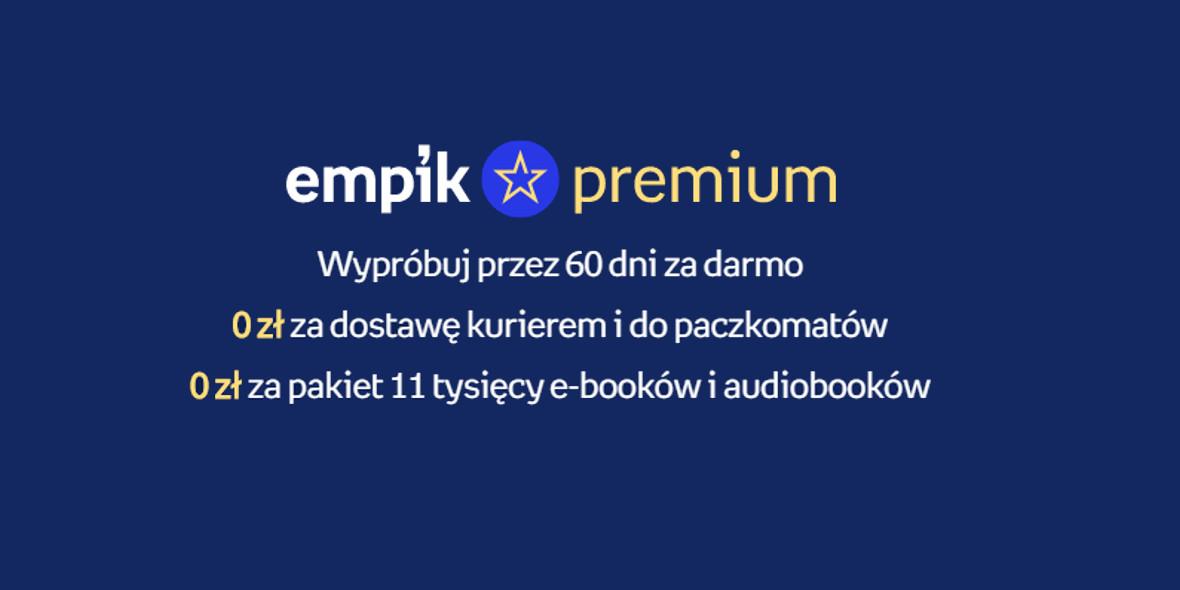 za dostawę i pakiet e-booków i audiobooków