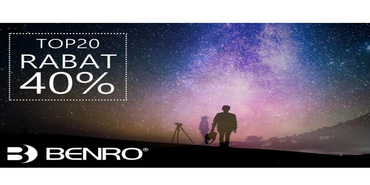 na TOP 20 produktów Benro