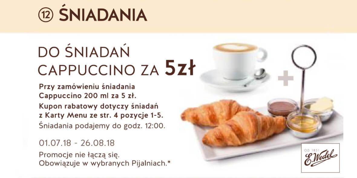za Cappuccino do śniadań