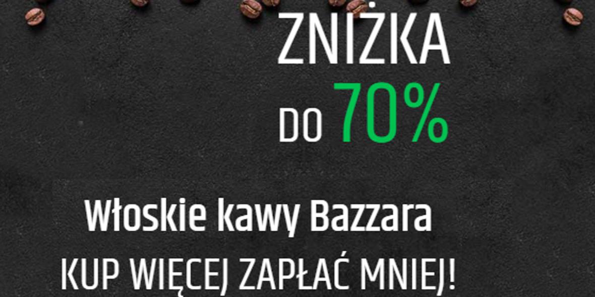 na włoskie kawy ziarniste Bazzara