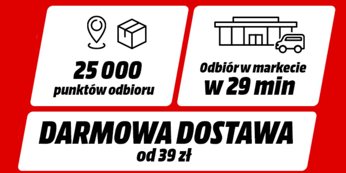 Media Markt: Darmowa dostawa 24.03.2021