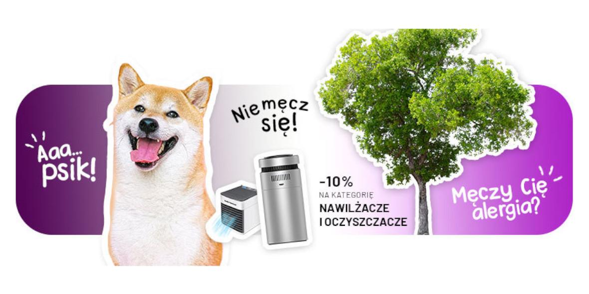 4KOM: -10% na nawilżacze i oczyszczacze