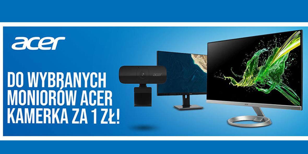 Komputronik: 1 zł za kamerkę do wybranych monitorów Acer 09.05.2021