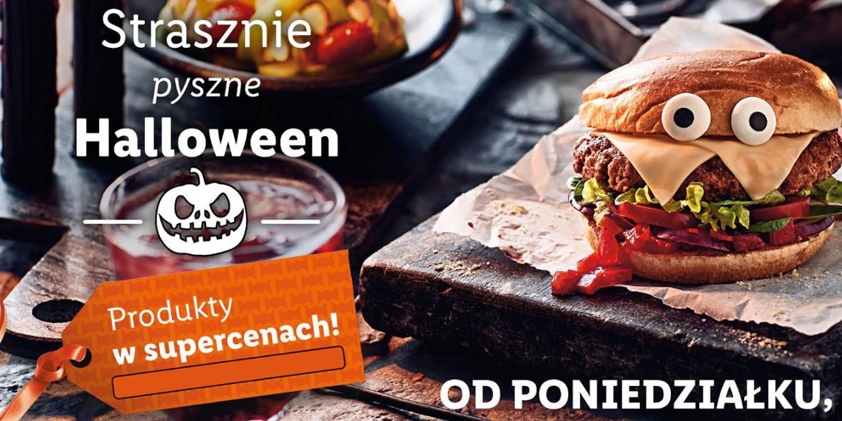 Lidl: Produkty w super cenach na strasznie pyszne Halloween 18.10.2021