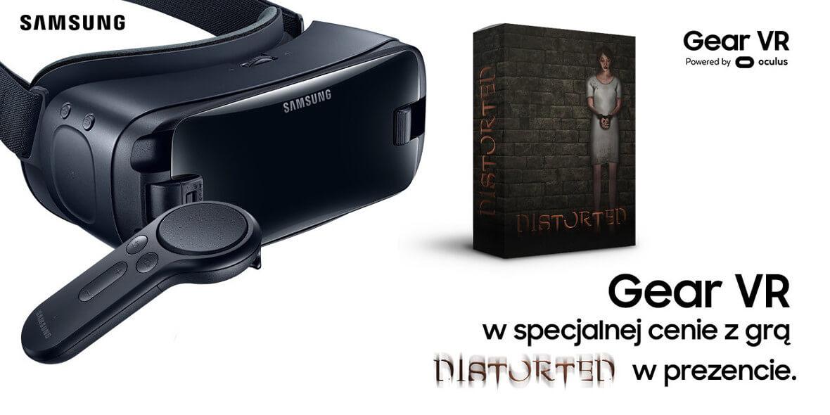 gra Distorted przy zakupie Gear VR