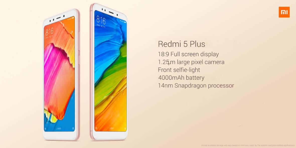 na Xiaomi Redmi 5