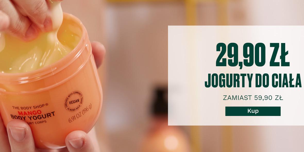 The Body Shop: -30 zł za jogurty do ciała 01.01.0001