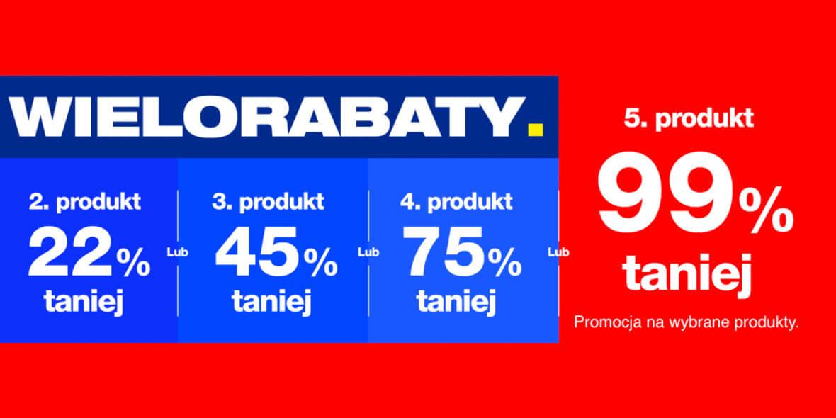 RTV EURO AGD: -99% na piąty produkt 02.03.2021