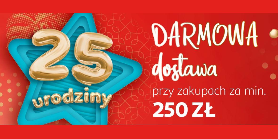 AuchanDirect: Darmowa dostawa przy zakupach za min. 250 zł
