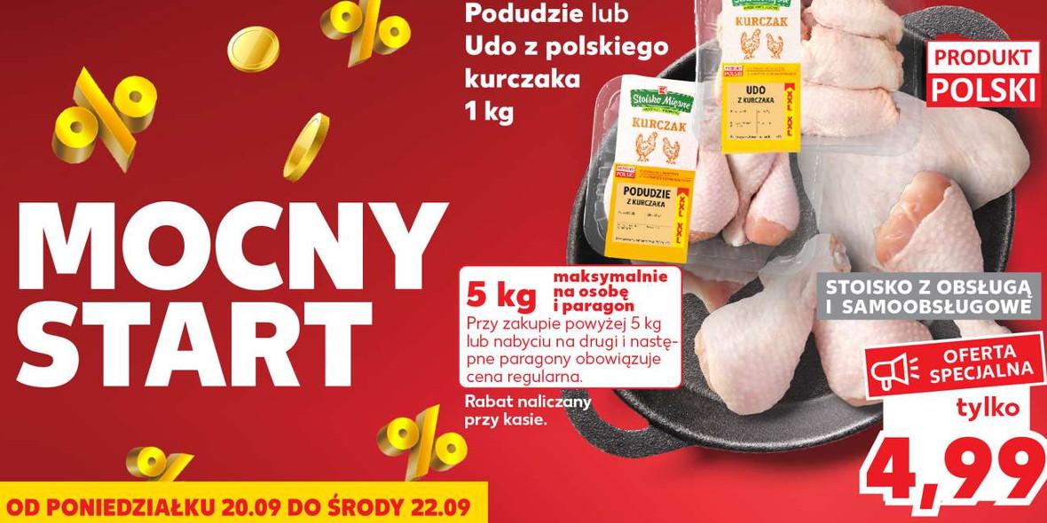 Kaufland:  Do -50% na wybrane produkty 20.09.2021