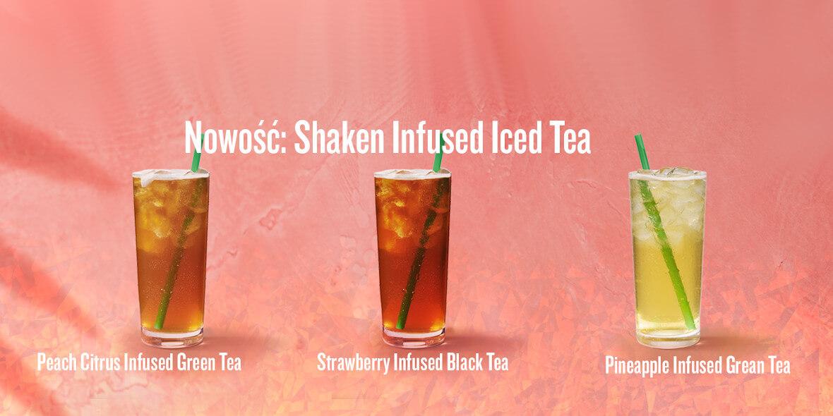 Shaken Infused Iced Tea