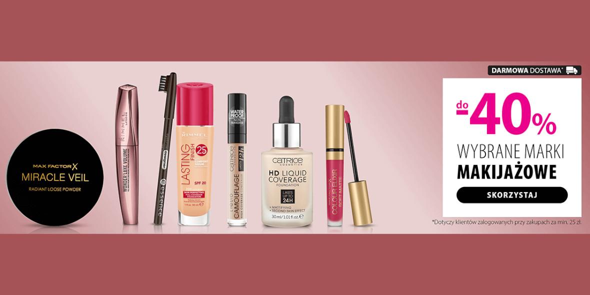 hebe: Do -40% na wybrane marki makijażowe 09.09.2021