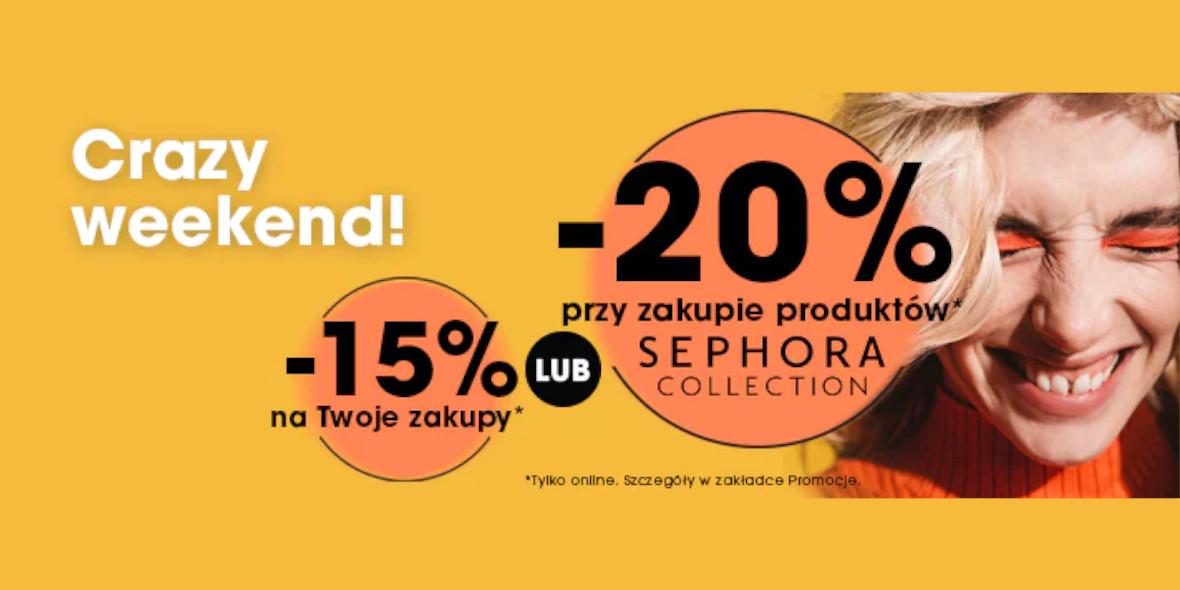 Sephora: Kod: do -20% na Twoje zakupy 17.09.2021
